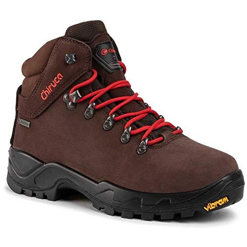 Chiruca Cares, Zapatos de Trekking Hombre, Marrón, 44 EU