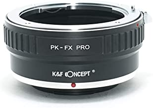 [正規代理店]K&F ペンタックス PK-フジX FX マウントアダプター PRO レンズクロス付 pk-fx-pro (KFFXPRO)
