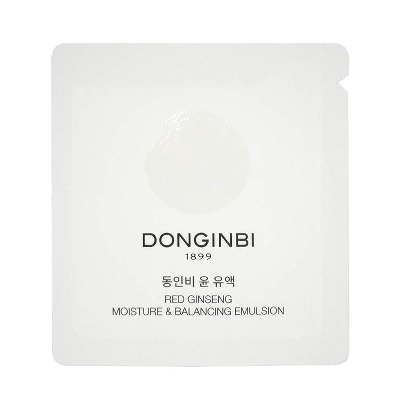 調整鳥テロリスト[正官庄/ドンインビ/DONGINBI]ドンインビ?ユン?乳液1mlx30枚 Donginbi Red Ginseng Deep Moisturizing Emulsion