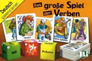 Das große Spiel der Verben (Kartenspiel)