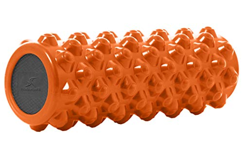 ProSource Bullet Sports Medicine Foam Roller 14'x 5', Extra Firm for Deep...