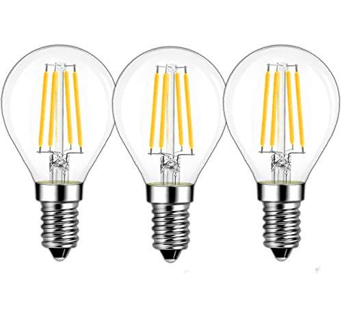 E14 gloeilamp 4 Watt helder glas G45 G14 LED-lampen - 40 W E14 gloeilamp vervanging SES Base G45 LED-lamp Mini Globe Glas gloeilamp voor kristal plafond hanglamp kroonluchter