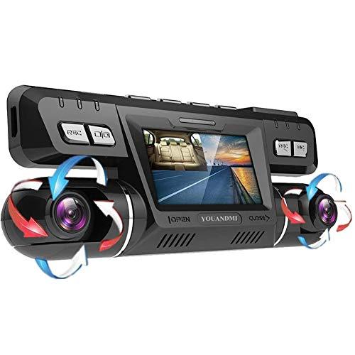 YOUANDMI Dashcam,2160P UHD GPS WiFi Vorne und Hinten Dual Kamera 170 Grad Weitwinkel Dashcam Auto mit WDR, Nachtsicht Lens,Bewegungserkennung,Audio,G-Sensor für Auto Parküberwachung