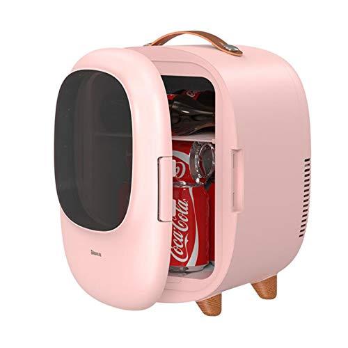 YUXINCAI Beauty Mini Refrigerador/Refrigerador Portátil para El Cuidado De La Piel Cosmético, 8L Mini Refrigerador Portátil para Cosméticos para Maquillaje Y Cuidado De La Piel, Dormitorio