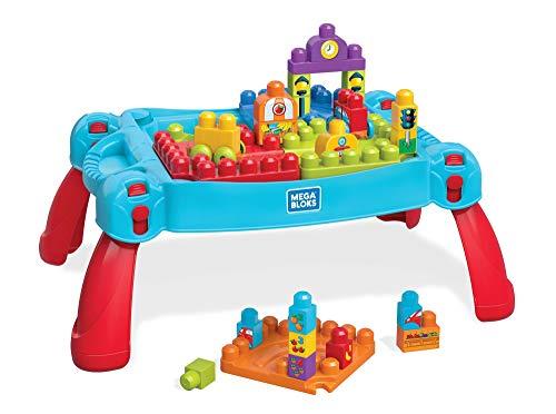Mega Bloks Table de construction et d'apprentissage Bloks FGV05