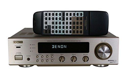 Denon DRA-F100 Stereo Receiver in champagnersilber