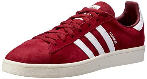 adidas Herren Campus Sneaker, Rot, 41 1/3 EU