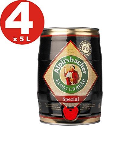 4 x Alpirsbacher Especial 5.2% vol. 5 litros barril de fiesta