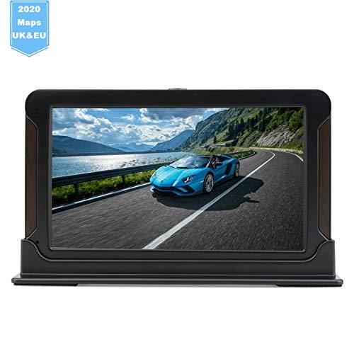 GPS-Navigationssystem mit 17,8 cm (7 Zoll) großem HD-Touchscreen und integrierter Sprache, 8 GB und 256 MB vorinstalliert, für lebenslange Updates