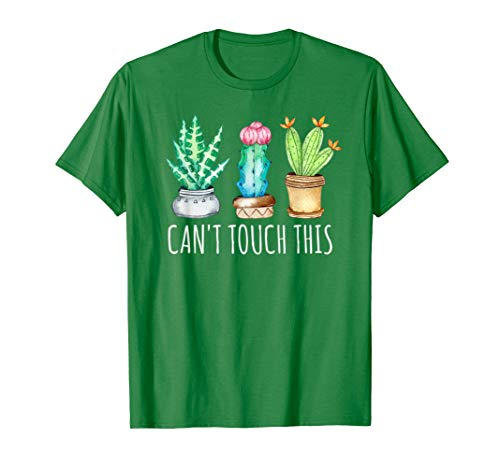 Can't Touch This Succulents Cactus Botanical Gardening