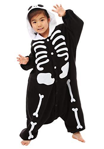 Samurai Market Pyjama Costume Deguisement Kigurumi Skeletor Adultes ou Enfant Importer Directement du Japon (Frais de Livraison Offert) (Enfant-110)
