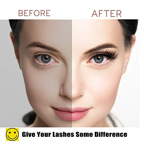 Magnetic Eyelashes with Eyeliner - Magnetic Eyeliner and Lashes Kit, 5D Faux Mink Lashes,Eyelashes Natural Look Reusable False Lashes (3 Pairs)