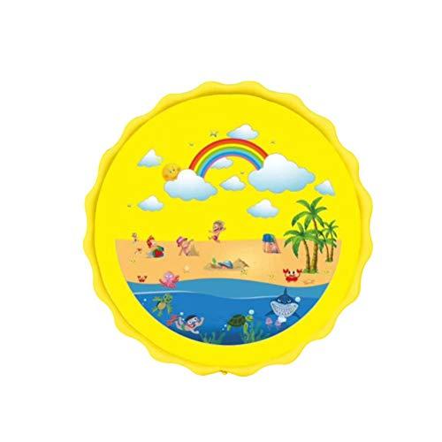 BSTOPSEL 170 cm Cartoon Watersproeier Pad Kids Water Speelmat Opblaasbare Gieter Buiten Tuin Water Spray Pad