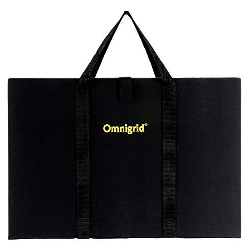 Omnigrid Fold-Away Cutting & Pressing Station, 12' x 18', Black