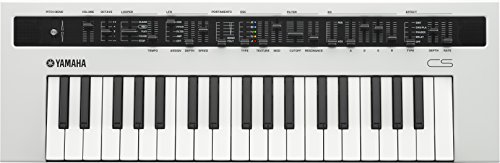 YAMAHA reface CS Tastiera Elettronica Musicale a 37 Tasti, Pianoforte Digitale, Bianco