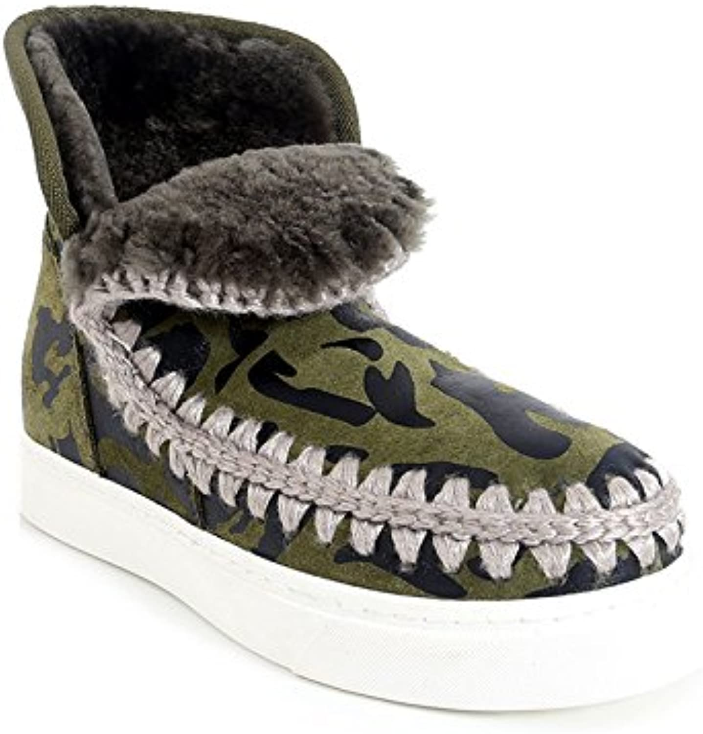 Inside Raised Round Head Velvet Low Cylinder Solid color Comfortable Flat Snow Boots