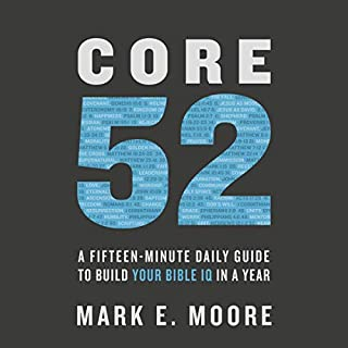 Core 52 audiobook cover art