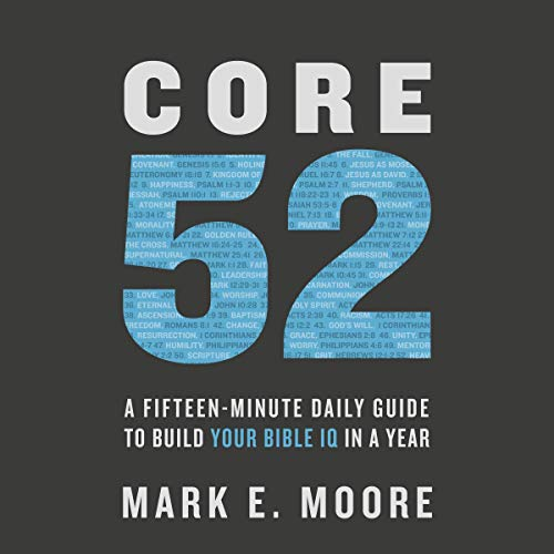 Core 52 audiobook cover art