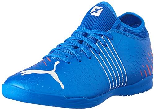 Puma Future Z 4.2 IT, Zapatillas de fútbol Sala Hombre, Bluemazing Sunblaz, 45 EU