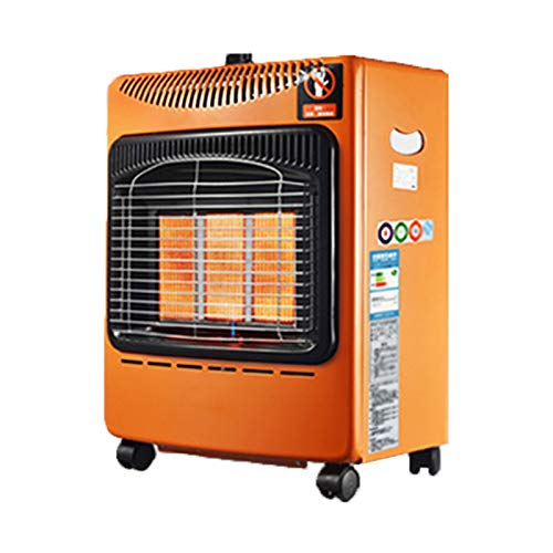 QILIN Terrace Heater, Propane Gas Portable Commercial Outdoor Heater, Three-speed Temperature Adjustment, with Universal Wheels, for Indoor and Outdoor Use