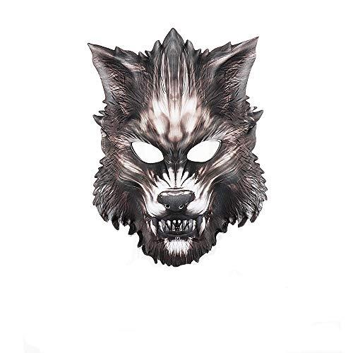 Halloween Wolf Maske Werwolf Tier Cosplay Zubehör Party Dekoration