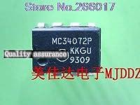 10PCS MC34072P MC34072 DIP8 34072 DIP-8 In Stock