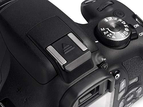Blitzschuhabdeckung Hot Shoe Cover Schutz Abdeckung für Blitzschuh *Verbesserte Version 2020* für Canon EOS 2000D 4000D 200D 800D 80D 6D Mark II 7D Mark II 77D (HC-C)