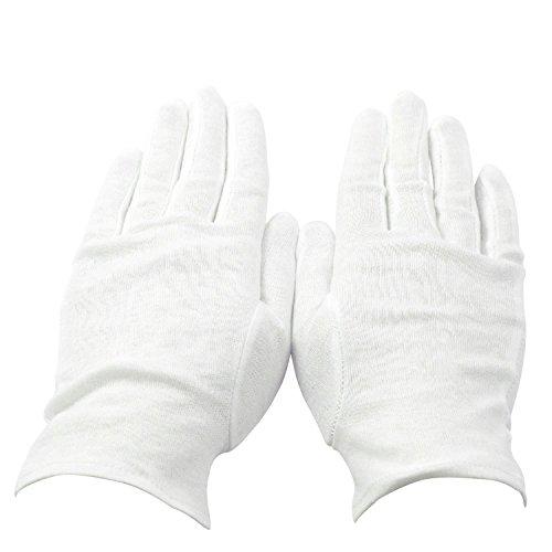 Gants Noirs et Blancs Herren Handschuhe , weiß (weiß) - COB