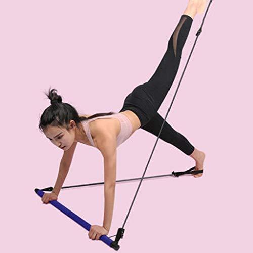 JFBZS Bandas Elasticas Resistencia, Bastones de Pilates, Equipo de Yoga, Cuerda elástica