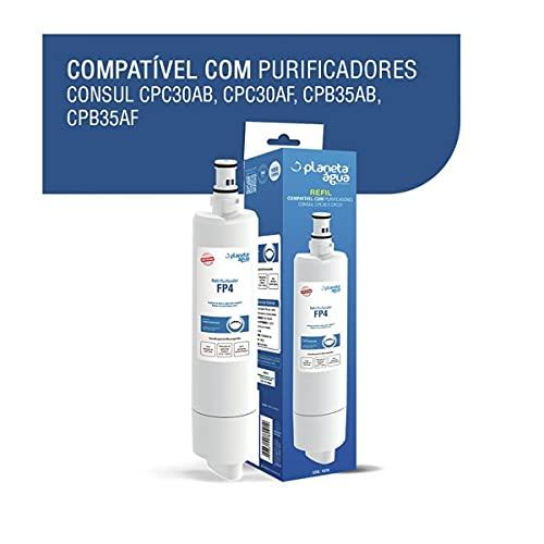 Refil Purificador De Água Consul Cpc30ab   Cpb35ab Fp4 Planeta Água 1078