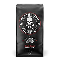best coffee, worlds strongest coffee, strong coffee, death wish coffee