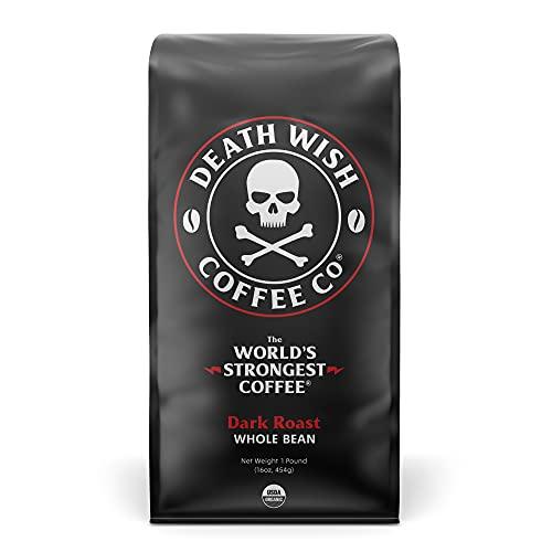 DEATH WISH COFFEE Whole Bean Coffee [16 oz.] The World