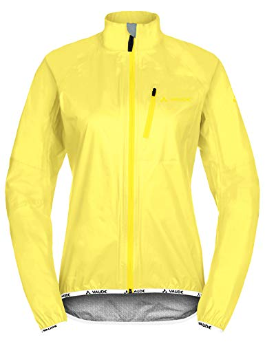 VAUDE Damen Drop Jacket III Regenjacke für Radsport, mimosa, 40, 049649780400