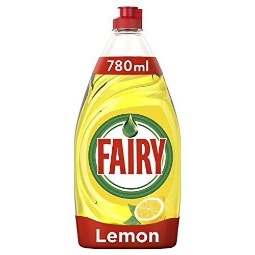 Fairy Ultra Líquido Lavadora Limón Sin Remojo Ni Grasa - 780ml