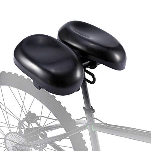 Ejoyous Fahrradsattel, Fahrradsitz, Hohl und Ergonomischer Fahrradsattels mit Gepolsterter Memoryschaum, Bequem, Atmungsaktiv, Geeignet für Herren Damen MTB/Rennrad Sattel