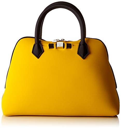 SAVE MY BAG Princess Midi, Bolso de mano. para Mujer, Amarillo (Rabat), 36x26x16 centimeters (W x H x L)
