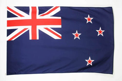 AZ FLAG Drapeau Nouvelle-Zélande 250x150cm - Grand Drapeau néo-zélandais 150 x 250 cm