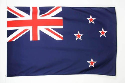 AZ FLAG Flagge NEUSEELAND 90x60cm - NEUSEELÄNDISCHE Fahne 60 x 90 cm - flaggen Top Qualität