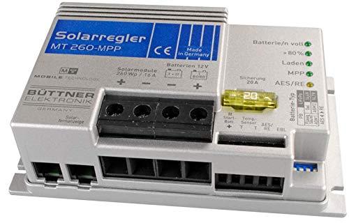 Büttner MT-Solarregler MPP 260 inkl. Temperaturfühler