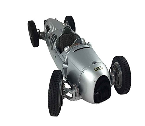 CMC-Classic Model Cars Auto Union Type C 1936 Nurburgring 18 Rosemeyer Limited Edition 1:18 Scale Detailed Assembled Collectible Historic Antique Vehicle Replica