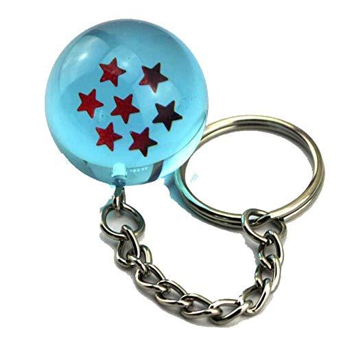 Etruke Dragon Ball Planet Bule Bead portachiavi ciondolo portachiavi Cosplay Gift, 1
