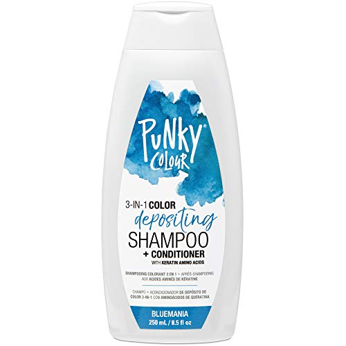 best color depositing shampoo for blue hair