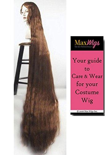 Better Discount Godiva Color WHITE - Lacey Wigs 5 ft Long Rapunzel...