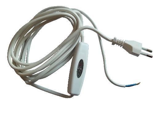Relco Dimmer SNELLO 40-160 Watt mit Leitung 210cm weiß