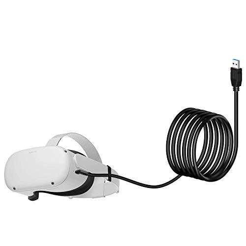 Seltureone Oculus Link - Cable de repuesto para Oculus Quest 2 /...