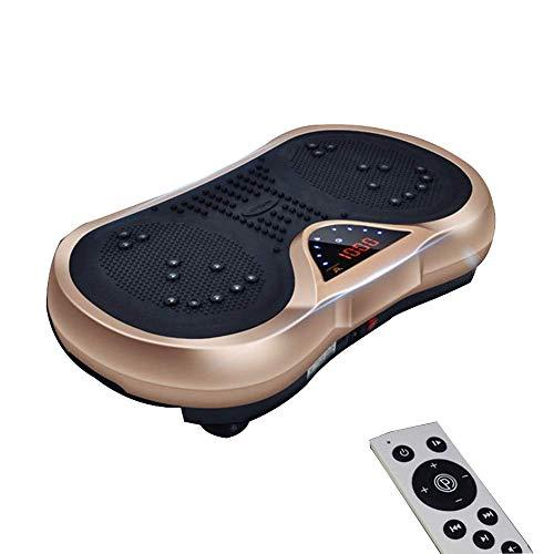 Plataformas vibratorias Power Plate, Vibration Fitness Plate, Máquina de ejercicios para todo el cuerpo, con altavoces Bluetooth Workout Gym Trainer Equipo de ejercicios para perder peso, para el hog