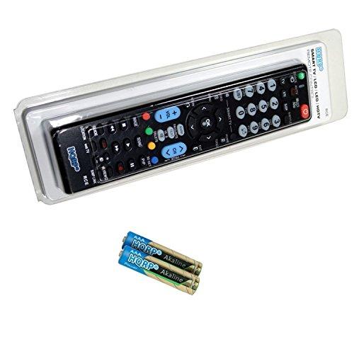 HQRP Universale Fernbedienung Fuer LG LED-Fernseher; 32LF6309, 40LF6309, 43LF6309, 49LF6309, 55LF6309 Fernseher