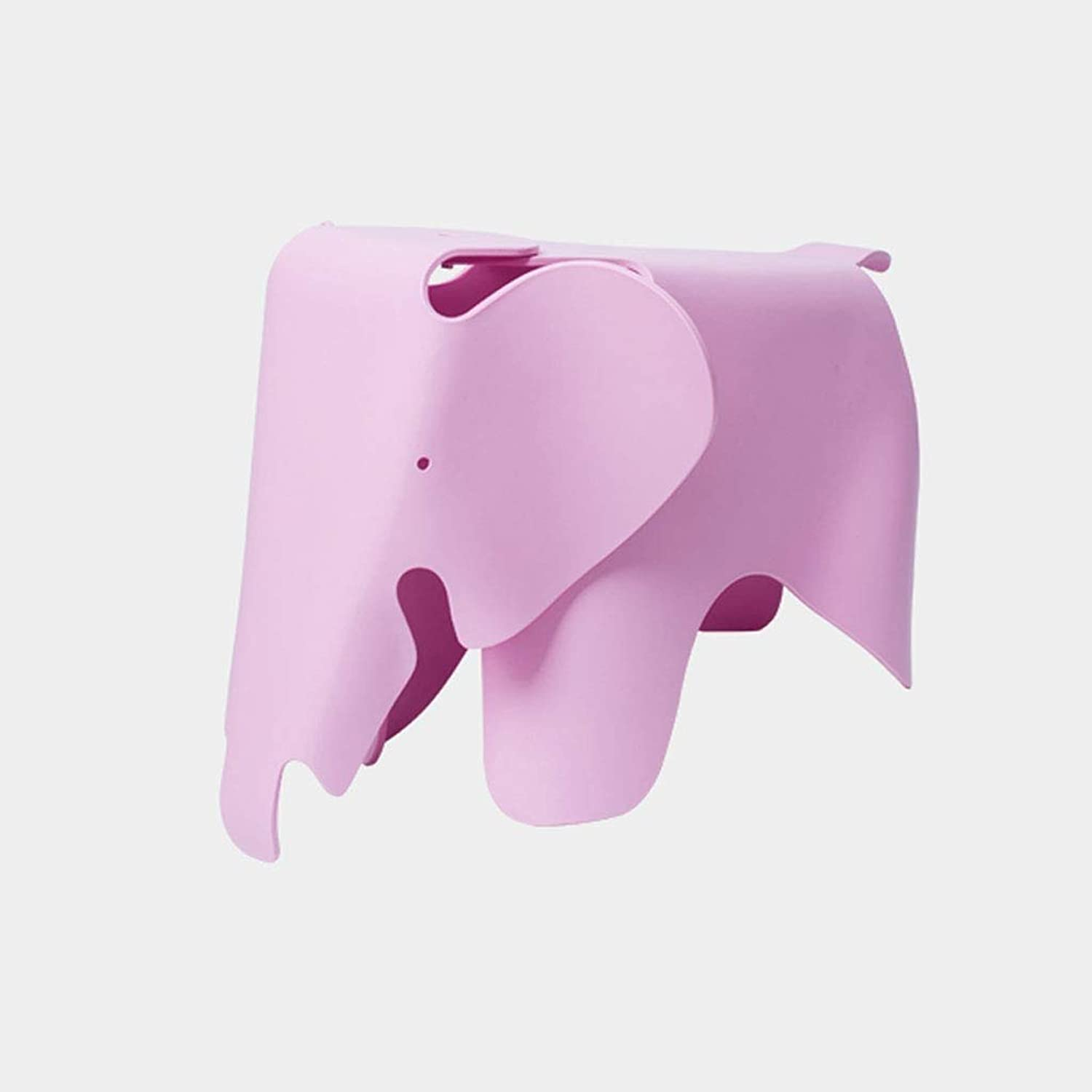 Chair Environmental Predection Plastic Stool Toy Decoration GMING (color   Pink)