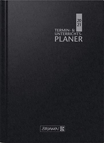 BRUNNEN 1075760901 Wochenkalender/Lehrerkalender, 2020/2021 Termin- & Unterrichtsplaner, Lehrer-Sortiment
