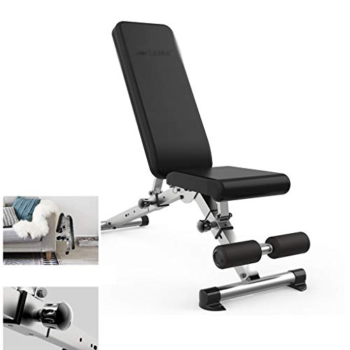 Great Features Of Home Gyms Sit-ups Fitness Equipment Dumbbell Bench, Fitness Chair Multi-Functional...